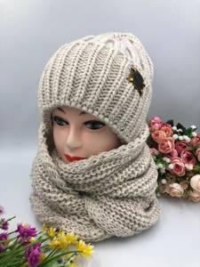 Шапка и шарф Хомут А15797