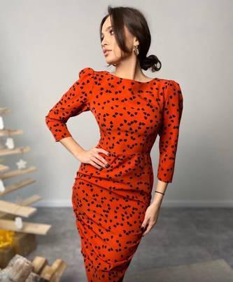 Платье короткое современное А23314