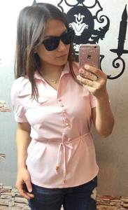 Блуза нарядная Ч6436