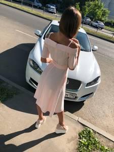 Платье длинное розовое с открытыми плечами Т4198
