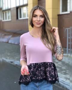 Блуза для офиса Ч8656