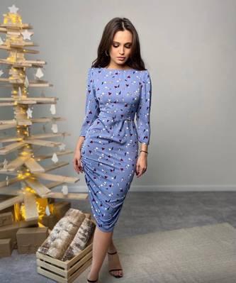 Платье короткое современное А23315