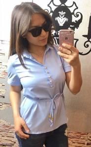 Блуза нарядная Ч6438