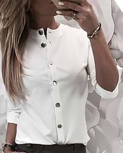 Рубашка однотонная А15568