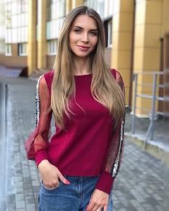 Блуза для офиса Ч8660