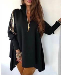 Блуза с длинным рукавом А02838