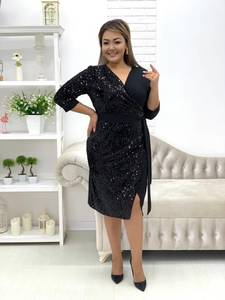 Платье короткое нарядное А19657
