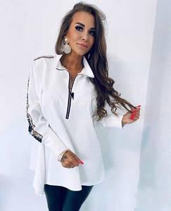 Блуза с длинным рукавом А02839