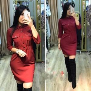 Платье короткое современное А11370