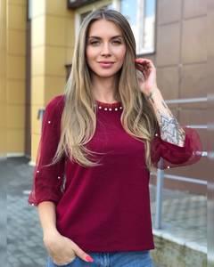 Блуза для офиса Ч8661