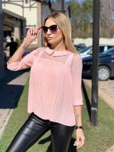 Блуза с кружевом Ц4627