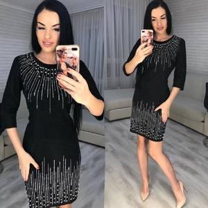 Платье короткое нарядное Ю2996