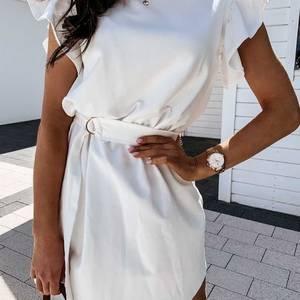 Платье короткое белое Я4436