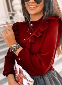 Блуза с длинным рукавом А10662