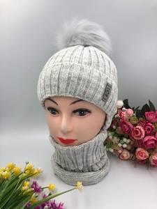 Шапка и шарф Хомут А10760