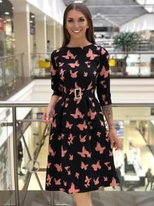 Платье короткое нарядное А10807