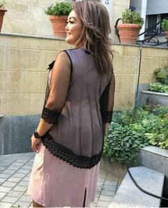 Платье короткое нарядное А11394