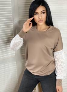 Блуза с длинным рукавом А18236