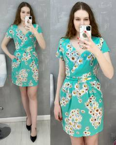 Платье короткое повседневное А30580