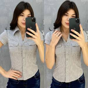 Рубашка с коротким рукавом А30761