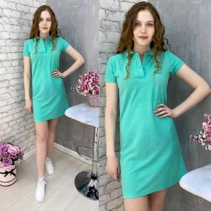 Платье короткое летнее А37568