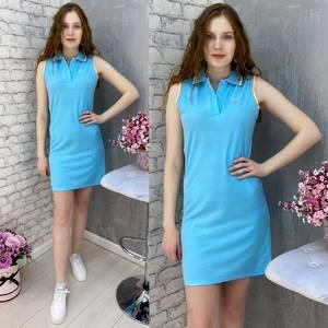 Платье короткое без рукавов А37575