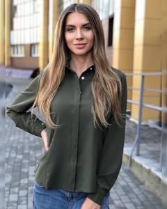 Рубашка с длинным рукавом Ч8666