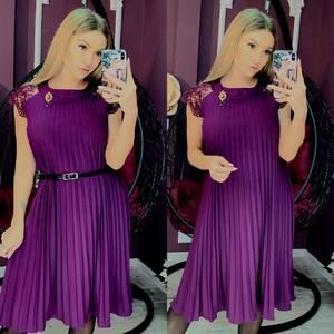 Платье короткое нарядное А10397