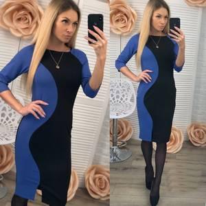 Платье короткое современное Ш0954
