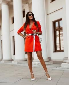 Платье короткое классическое А10697