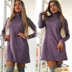 Платье короткое с длинным рукавом А10931