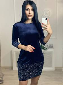 Платье короткое нарядное А20554