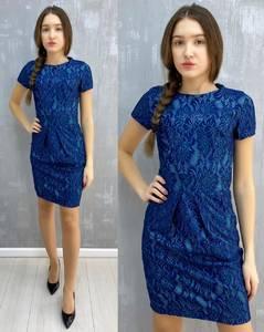 Платье короткое без рукавов А30101