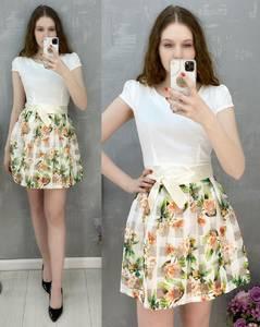Платье короткое повседневное А30581