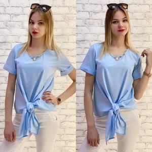 Блузка с коротким рукавом А37532