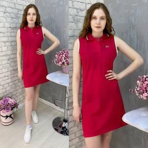 Платье короткое без рукавов А37576