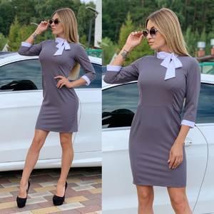 Платье короткое классическое Ч6184
