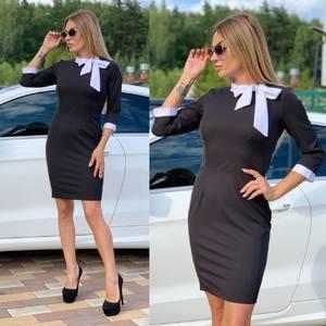 Платье короткое классическое Ч6185