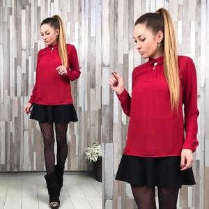 Блуза с длинным рукавом Т2161