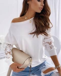 Блуза с длинным рукавом А10709