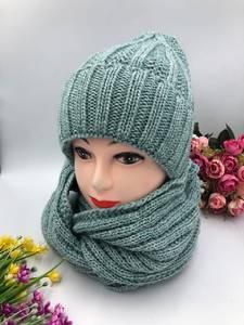 Шапка и шарф Хомут А10749