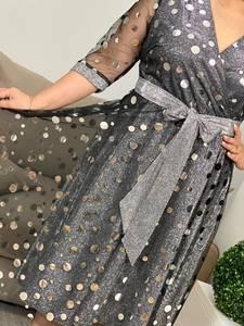 Платье короткое нарядное А19640