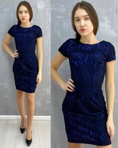 Платье короткое без рукавов А30102