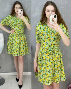 Платье короткое повседневное А30582