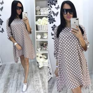 Платье-туника короткое летнее повседневное Т5196