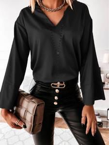 Блуза с длинным рукавом А13756