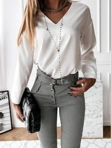 Блуза с длинным рукавом А13757