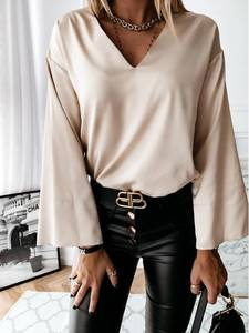 Блуза с длинным рукавом А13758