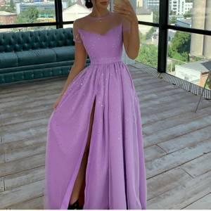 Платье длинное нарядное А09347