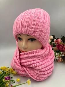 Шапка и шарф Хомут А10750